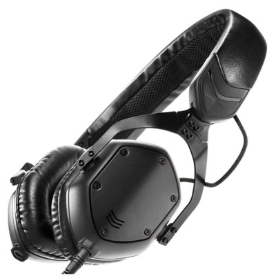 V-MODA XS 3D Custom On-Ear Headphones (Matte Black Metal)
