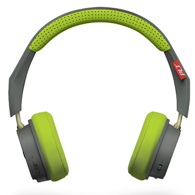 Plantronics BackBeat 505 Wireless Headphones (Grey Lime)
