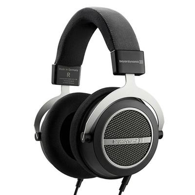 Beyerdynamic Amiron Home High-End Tesla Over-Ear Headphones, Open-Back (Black)