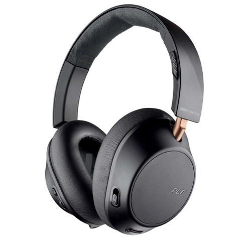 Plantronics BackBeat Go 810 Wireless Active Noise Cancelling Headphones (Graphite Black)