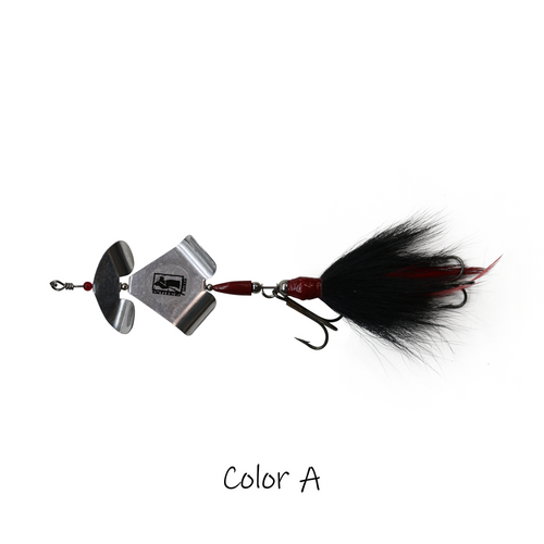 Model #1300 Buzz Bait Bucktail, Color A