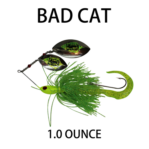Bad Cat Spinner Bait Model - 1.0 Ounce