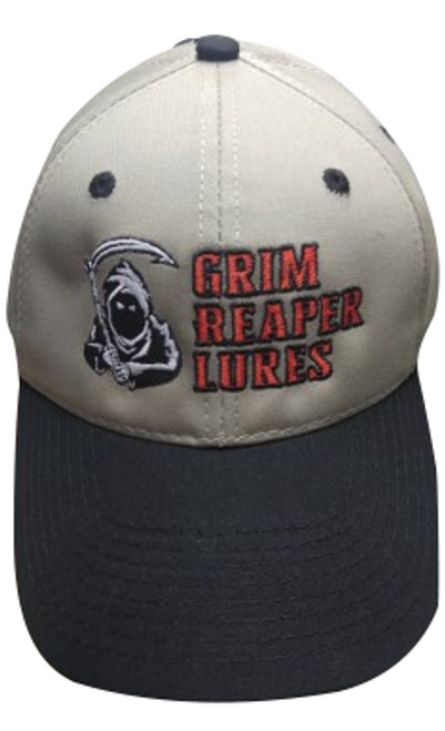 Grim Reaper Lures Embroidered Hat