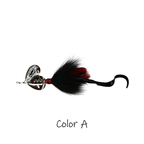 Model #650 Inline Bucktail, Color A