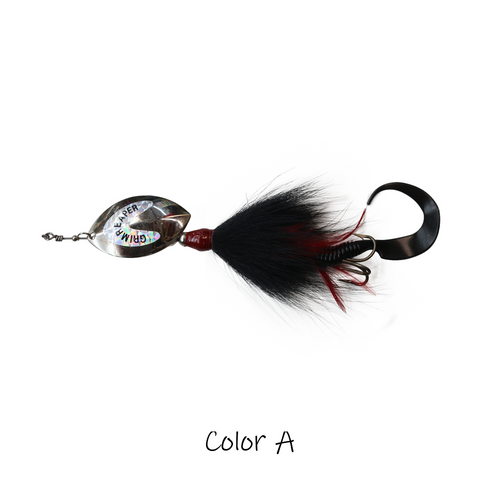 Model #1100 Inline Bucktail, Color A
