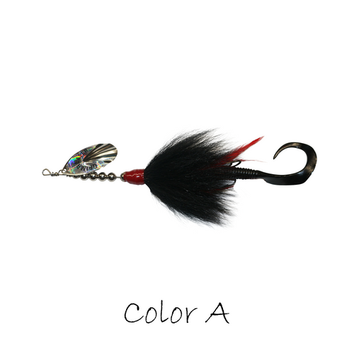 Model #1500 Inline Bucktail, Color A