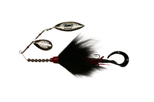 Model #900 Tandem Bucktail, Color A