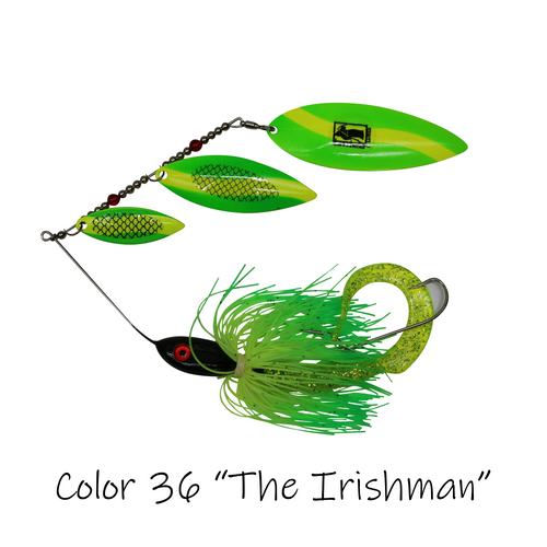 "2.0 Heavy Weight Triple Threat Model, Color 36 ""The Irishman"""