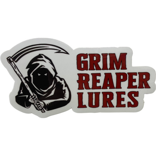 Medium Grim Reaper Lures Decal