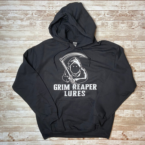 Grim Reaper Lures Black Hoodies