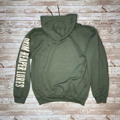 Grim Reaper Lures Army Green Hoodies