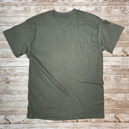 Grim Reaper Lures T-Shirt - Heather Military Green