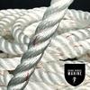 "Windlass Anchor Rode 15' - 1/4"" SS Chain  1/2"" 3-Strand Nylon Rope"