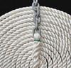 "Windlass Anchor Rode 25' - 5/16"" Gal G4 Chain 5/8"" 3-Strand Rope"