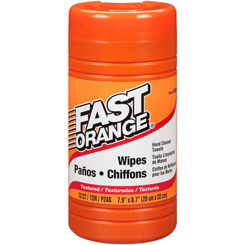Permatex Fast Orange Heavy Duty Hand Cleaner Wipes - 75-Piece