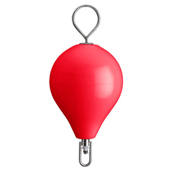 "Polyform Mooring Buoy w/SS 13.5"" Diameter - Red"