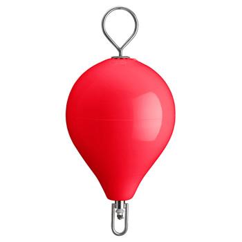 "Polyform Mooring Buoy w/SS 17"" Diameter - Red"