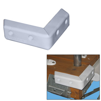 "Dock Edge Protect Corner HD 16"" PVC Dock Bumper"