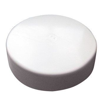 Monarch White Flat Piling Cap - 13.5""