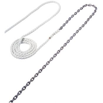 "Maxwell Anchor Rode - 15'-5/16"" Chain to 150'-5/8"" Nylon Brait"