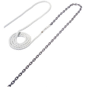 "Maxwell Anchor Rode - 18'-5/16"" Chain to 200'-5/8"" Nylon Brait"