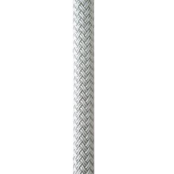 "New England Ropes 5/8"" x 25' Nylon Double Braid Dock Line - White"