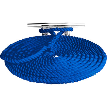 "Sea-Dog Twisted Nylon Dock Line - 3/8"" x 15' - Blue"