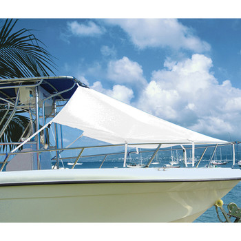 """Taylor Made T-Top Bow Shade 7'L x 102""""W - White"""
