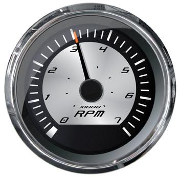 "Faria Platinum 4"" Tachometer - 7000 RPM (Gas - Inboard, Outboard & I/O)"