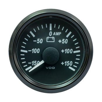 """VDO SingleViu 52mm (2-1/16"""") Ammeter - 150 AMP"""