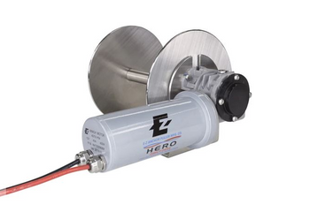 HERO 1 - ALUMINUM ALLOY DIRECT DRIVE DRUM ANCHOR WINCH FOR BOATS TO 21'