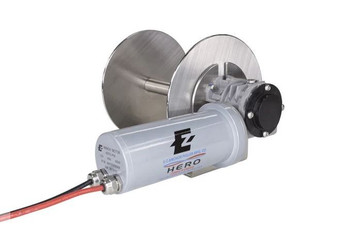 HERO 2 - ALUMINUM ALLOY DIRECT DRIVE DRUM ANCHOR WINCH FOR BOATS 21'