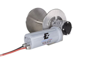 HERO 3 - ALUMINUM ALLOY DIRECT DRIVE DRUM ANCHOR WINCH FOR BOATS TO 21'