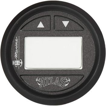 "T-H Marine ATLAS Hydraulic Gauge Kit f/6"", 10"", 12""  Jack Plate - Black Bezel"