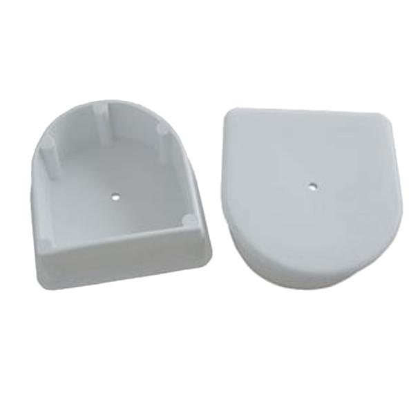 Dock Edge Large End Plug - White *2-Pack
