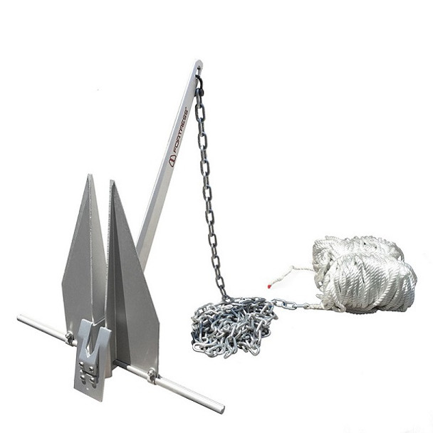 """Fortress Fx-7 Anchoring System 250' 3/8"""""""" Line, 15' 1/4"""""""" G30"""