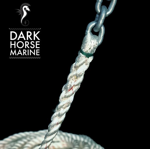 """Dark Horse Marine Anchor Rode- 15' of 1/4"""" G4 Chain to 1/2"""" 3-Strand Nylon Rope"""