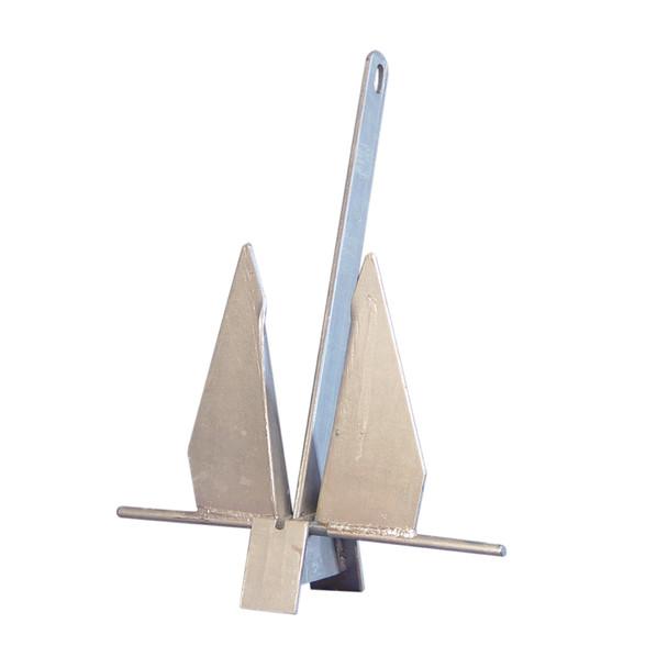 Galvanized Fluke/Danforth Boat Anchor (11 lb)