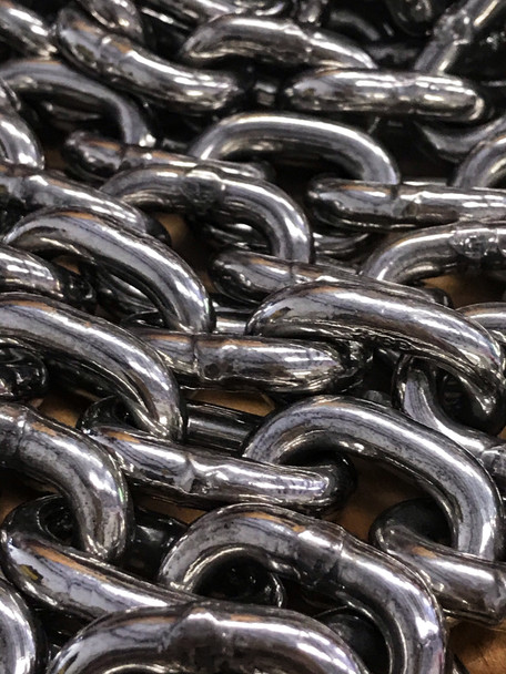 """Chain Only- Stainless Steel 1/4"""" Short Link"""