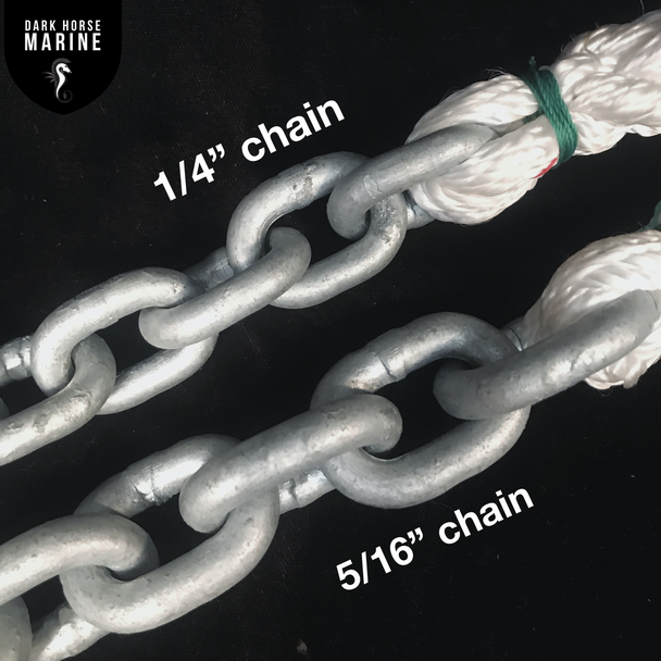Sample Chain for Size