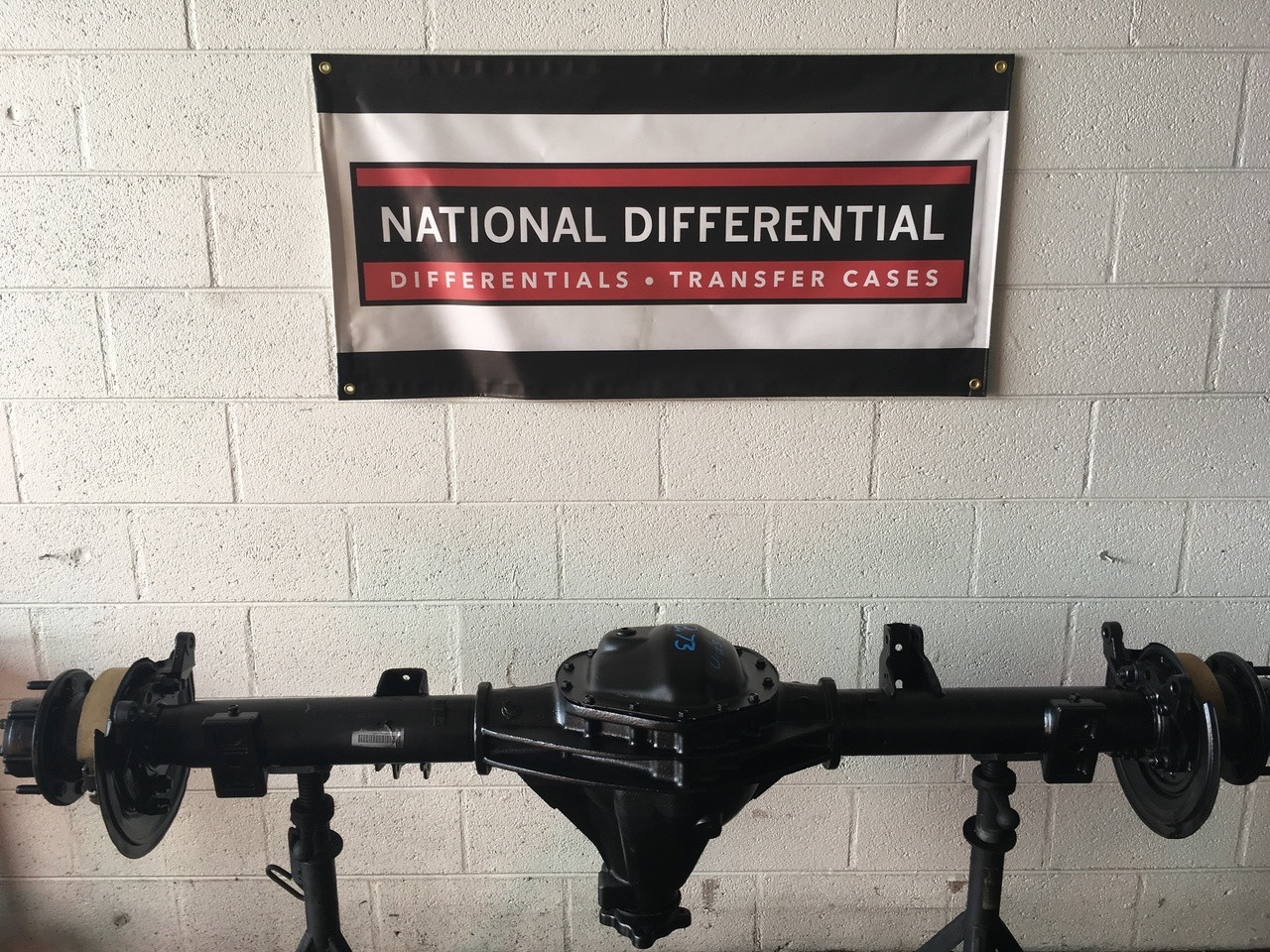 Rear 11.5-inch differential with limited slip for 2012 and 2013 Ram 2500 Pickup Trucks from National Differential in Colorado Springs.