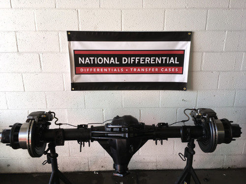 11.55 Rear Differential for 2003-2008 DRW Dodge 3500 Pickup with Dual Rear Wheels.  Available with 3.42, 3.73 or 4.10 gear ratios.  Does not include brakes as shown in photo.