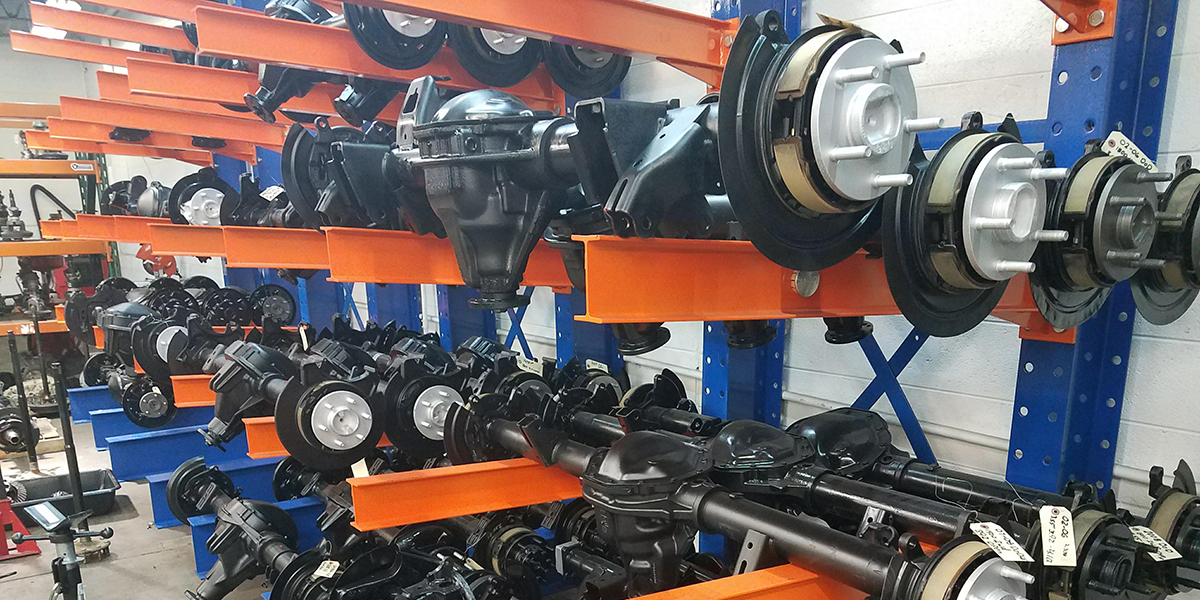 Remanufactured Front & Rear Differentials - Rebuilt Differentials Shop