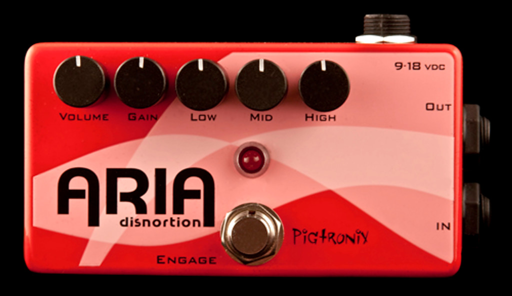 Pigtronix Aria Distortion Pedal
