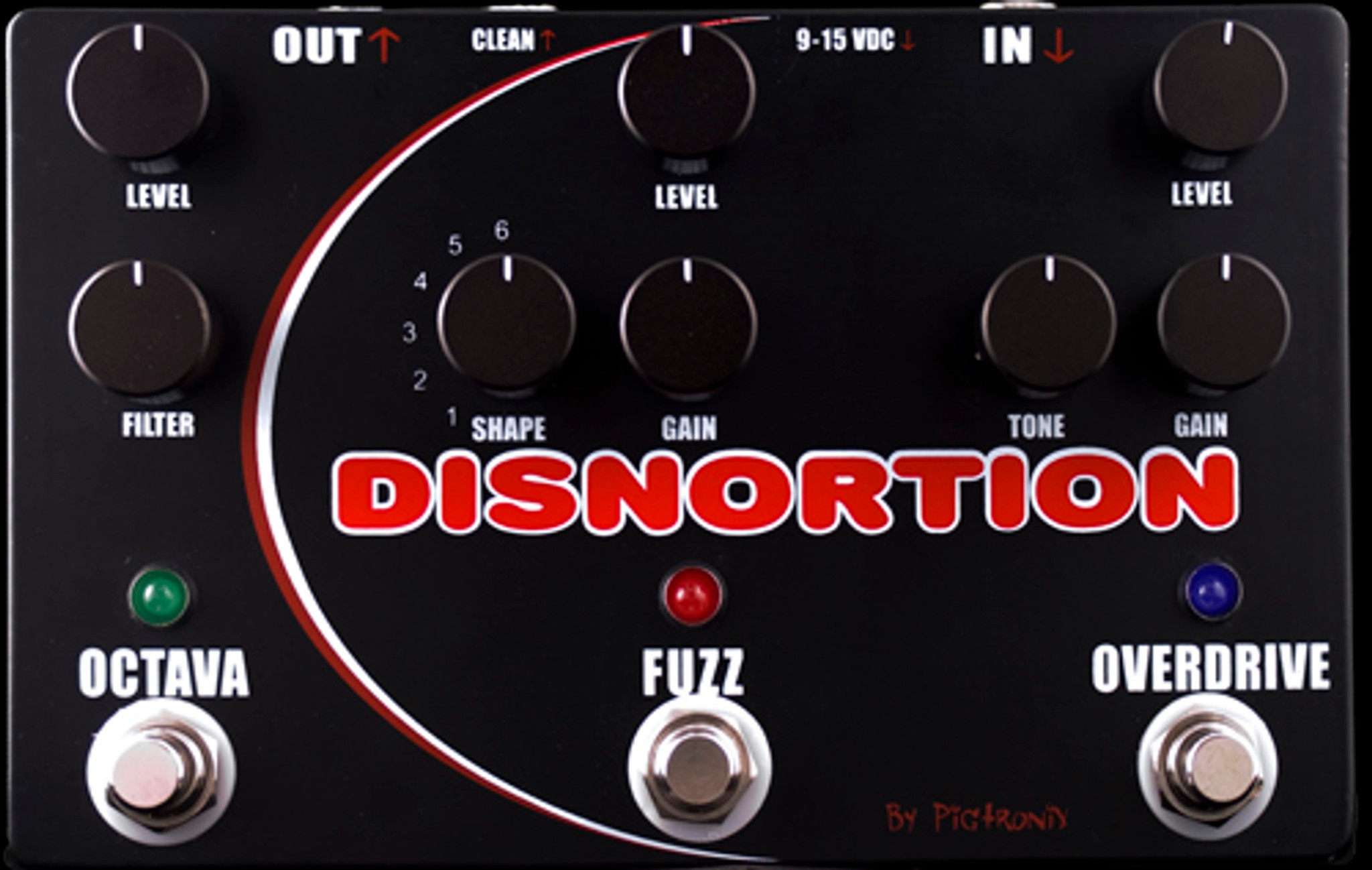 Pigtronix Pedals Disnortion