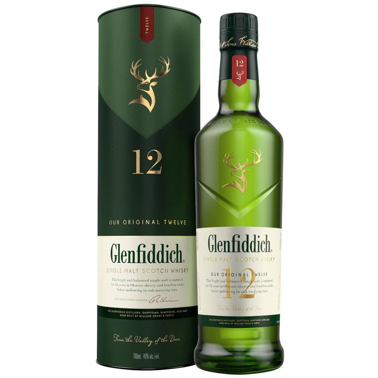 Glenfiddich Single Malt Scotch Whisky 12 Year Old [1000ml]