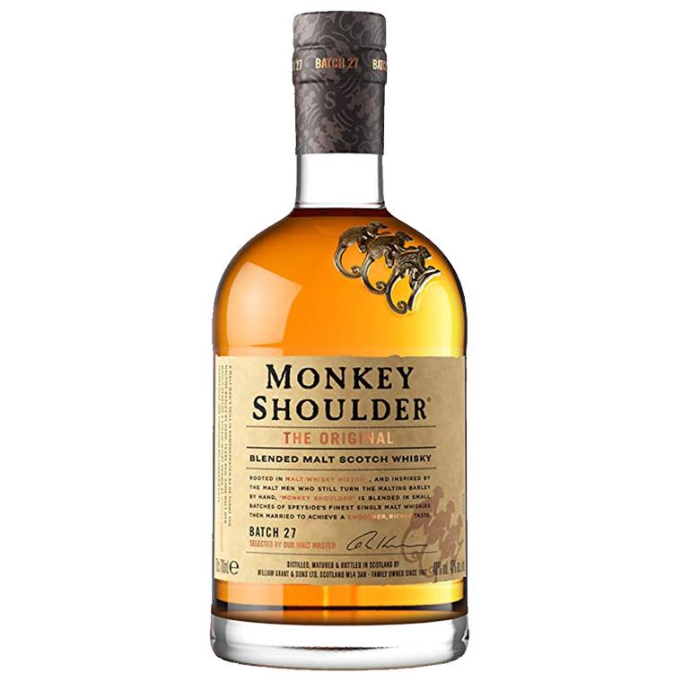 Monkey Shoulder Blended Malt Scotch Whisky [1000ml]