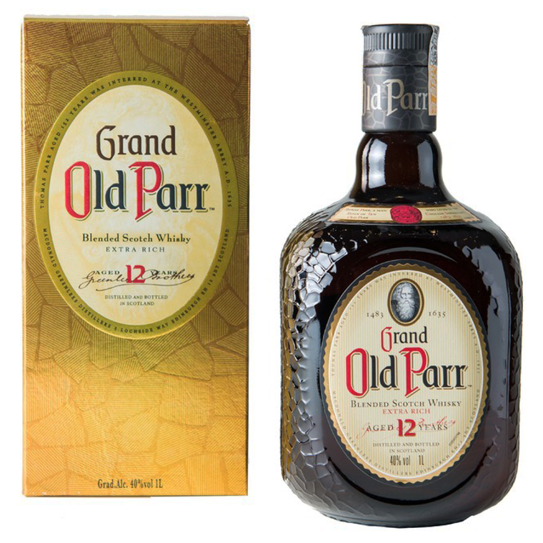 Old Parr Blended Scotch Whisky 12 Year Old [1000ml]