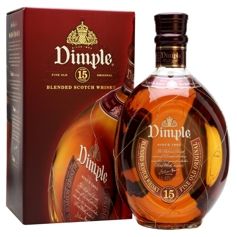 Dimple Blended Scotch Whisky 15 Year Old [1000ml]