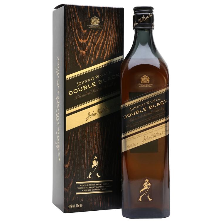 Johnnie Walker Double Black Blended Scotch Whisky [1000ml]